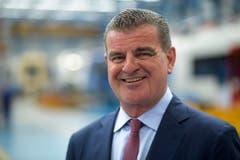 Platz 4: Der Thurgauer Unternehmer Peter Spuhler mit einem Vermögen von 2 bis 2,5 Milliarden Franken. (Bild: GIAN EHRENZELLER (KEYSTONE))