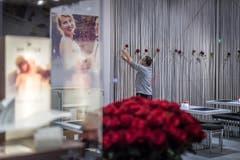 Olma Messen, Foyer Halle 9.1 Fest- und Hochzeitsmesse (Bild: Michel Canonica)