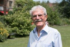 Hans Heule, pensionierter Lokomotivführer, Rorschach. (Bild: pd)