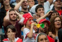 SCHWEIZ FUSSBALL WM 2014 PUBLIC VIEWING (Bild: Keystone)