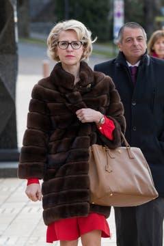 Der Mantel des Anstosses an der Vaduzer Landtagseröffnung im Januar. (Bild: Keystone/DANIEL SCHWENDENER)