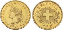 """Goldmünze """"Durussel-Probe"""": erste Goldmünze der Eidgenossenschaft: Verkaufspreis 46'360 Franken (Verkaufspreis inkl. Aufschlag, ohne MwSt.). (Bild: pd)"""