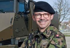 Hans-Peter Kellerhals, Divisionär, Wolfhalden. (Bild: pd)