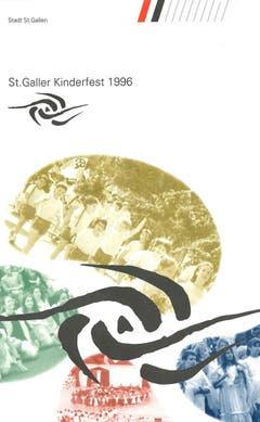 """Das St.Galler Kinderfest-Motto des Jahres 1996 lautete """"gestern-heute-morgen"""". (Bild: PD)"""