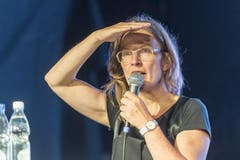 Kandidatin Ingrid Jacober (Grüne). (Bild: Hanspeter Schiess)