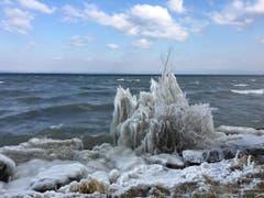 Eiszeit in Arbon (Bild: Helena Krüsi)