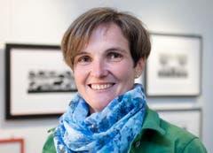 Jolanda Brändle, Bäuerin und Scherenschnitt-Künstlerin, Mosnang (Bild: Urs Jaudas)