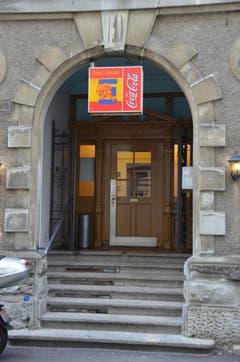 Die Eingangspartie des Klubhauses 2011. (Bild: Reto Voneschen)
