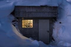 Lawinensprengung am Pizol (Bild: Michel Canonica)