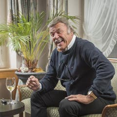 """Hans """"Hausi"""" Leutenegger, Unternehmer, Genf. (Bild: Urs Bucher)"""