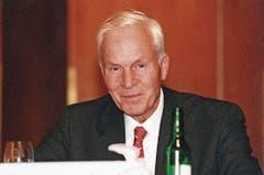 Platz 2: August II. Baron von Finck, Grossgrundbesitzer, Gastronom, Bankbetreiber und Warenprüfer aus Weinfelden. Das Familienvermögen wird auf 4,5 bis 5 Milliarden Franken geschätzt. (Bild: pd)