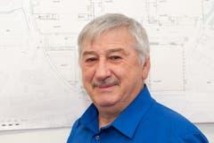 Roland Vils, dienstältester Mitarbeiter Olma Messen, St.Gallen. (Bild: pd)