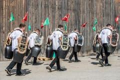 3. September: Eidgenössisches Schellen- und Trychlertreffen in Märstetten. Grosser Trychlerumzug durchs Dorf. (Bild: Thi My Lien Nguyen)
