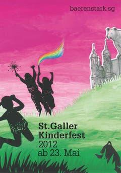 """2012 stand das Kinderfest im Zeichen des Bärs - """"baerenstark"""" lautete das Motto. (Bild: PD)"""