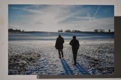Januar: Timon Riechsteiner fotografierte mit Blick auf den Räuchlisberg. Rechts im Hintergrund der Gewerbeturm. (Bild: manuel nagel)