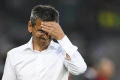 Die dritte Niederlage im dritten Spiel macht FCSG-Coach Boro Kuzmanovic Kopfzerbrechen. (Bild: keyston)