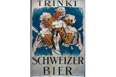 Trinkt Schweizer Bier: Ein Plakat aus den 1920-er Jahren. (Bild: SBV)