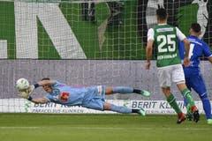 Hielt den FCL-Sieg fest: Jonas Omlin. (Bild: keyston)