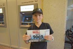 Yannick Birrer, Kriens, Startnummer 9069, zum 41. Stadtlauf: «Ich bin dieses Jahr erstmals allein am Start. Darauf freue ich mich.» (Bild: LZ)
