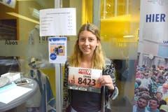 Chiara Pompei, Horw, Startnummer 8423, zum 41. Stadtlauf: «Ich liebe den Laufsport, und wenn das Gute so nah liegt, was will man mehr? Ein Lauf direkt vor der Haustür, das ist einfach genial.» (Bild: LZ)