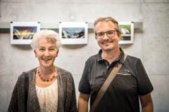 Sie gehören zu den zahlreichen TZ-Leserfotografen: Mägi Habrik und Roger Rubin. (Bild: Reto Martin)