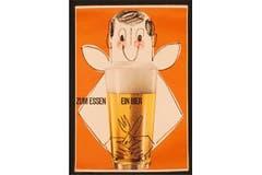 1963: «Zum Essen ein Bier». (Bild: SBV)