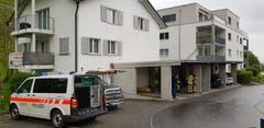 Der Tatort an der Rebenstrasse. (Bild: Ruedi Hirtl)