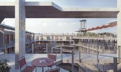 ...dasselbe gilt auch für das Projekt «Ludoville» der Architekten Toblergmür aus Zürich/Luzern.
