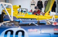 Adriano Zinnà hat den Traumberuf Fahrzeugbetreuer im Autobau in Romanshorn.
