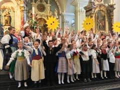 Auch in Engelberg füllten die Kinder die Kirche.