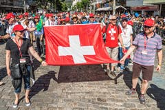 Auch eine Delegation aus der Schweiz ist zur Feier eingeladen worden. Unter anderen haben Regierungsmitglieder des Kantons Freiburg teilgenommen.