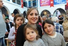 Jüdisches Pilgerfest zur Ghriba-Synagoge auf der Insel Djerba - eine jüdische Familie aus Frankreich mit tunesischen Wurzeln.(Fotografin: Katharina Eglau)