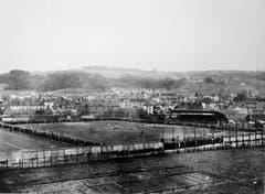Blick aufs Espenmoos im Jahr 1932. (Stadtarchiv der Ortsbürgergemeinde)