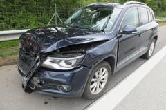 An drei Fahrzeugen entstand Sachschaden von mehr als fünfzigtausend Franken. (Bilder: Kapo)