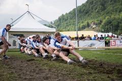 Die Stans-Oberdorfer gewinnen in der Gewichtsklasse X. Bild: Manuela Jans-Koch (Stans, 19. Mai 2018)