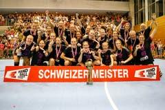 Spono Eagles sind Schweizermeister! | Bild: Marc Schumacher / Freshfocus (Nottwil, 22. Mai 2018)