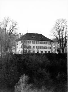 Der Freihof Geissenstein in den 1960er/1970er Jahren. Zu sehen ist die Nordfassade vom Geissensteinring aus.