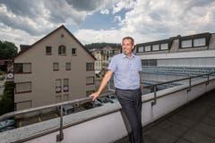 Bruno Käch, Präsident der Zentralschweizer Vereinigung diplomierter Steuerexperten. (Bild: Philipp Schmidli, 23. Juni 2017)