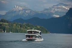 Jungfernfahrt auf dem Vierwaldstättersee. (Bild: Dominik Wunderli (Luzern, 24. Mai 2018))