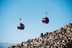 Die «Linea Roja» in La Paz ist 2664 Meter lang. Die Fahrzeit beträgt 10 Minuten (Bild: PD).