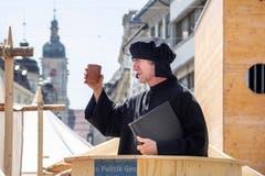 ...und auch für Reformatoren. (Bild: Hanspeter Schiess)