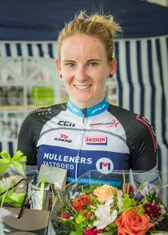 Désirée Ehrler gewinnt den GP Cham Hagendorn. (Bild: Christian H. Hildebrand (Hagendorn, 27. Mai 2018)