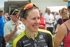 Desiree Ehrlers dritter Platz lässt die Chamer jubeln. (Bild: Christian H. Hildebrand (Hagendorn, 27. Mai 2018)