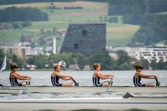 Die Damen vom Seeclub Zug. (Bild: Christian H. Hildebrand, 26. Mai 2018)
