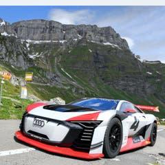 Der E-Tron Vision GT von Audi. (Bild: Audi AG, Spiringen, 28. Mai 2018)