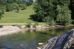Baustelle im Grünen: Das Kraftwerk Grafenau wird in einer wunderschönen Naturlandschaft erstellt. Entsprechend...