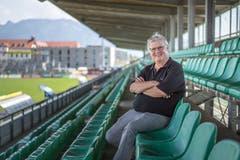 Hubert Nagel präsidiert seit 20 Jahren den SC Austria Lustenau.