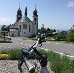 Wallfahrtskirche Bildstein oberhalb von Bregenz.