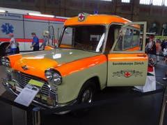 Krankenwagen von 1964 mit 185 PS. (Bild: Josef Müller)