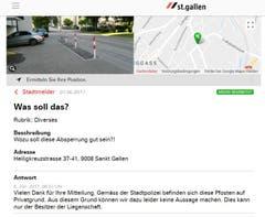 Es gibt auch Fragen, die nicht einmal die Stadtverwaltung beantworten kann. (Illustration: Stadt St.Gallen)